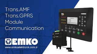 Trans.AMF - Trans.GPRS Module Communication
