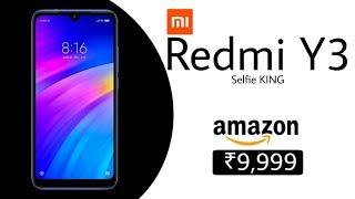 Redmi Y3: 32mp selfie camera, specifications,price,