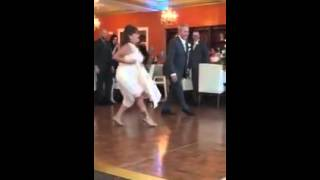 Father and Mother of Bride Kill it with Surprise dance