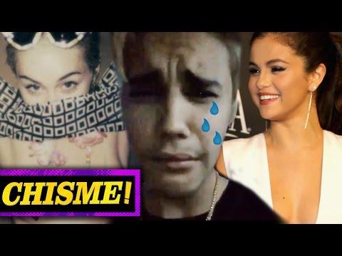 ¡Justin Bieber Llora Por Selena Gomez y Miley Cyrus Se Desnuda! - CHISMELICIOSO!
