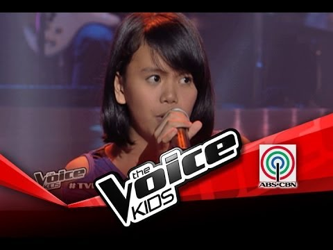 "The Voice Kids Philippines Blind Audition ""Halo"" by Triscia"