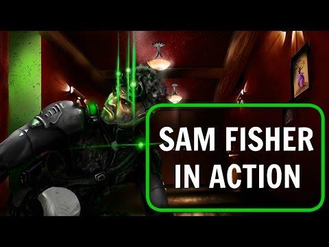 Sam Fisher Speed Painting