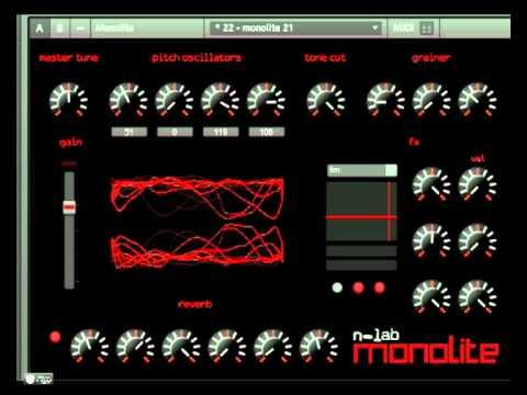 Reaktor Monolite 1.0 - some snapshots