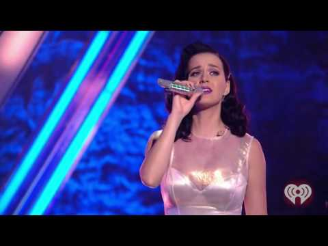 Katy Perry performs 'Grace Of God' at iHeartRadio Album Release Party