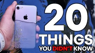 iPhone 7 - 20 Things You Didn