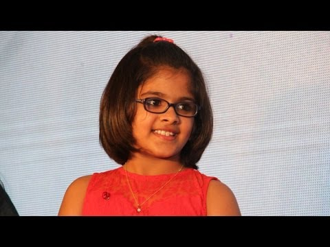 Uthra Unnikrishnan sings at Saivam audio launch