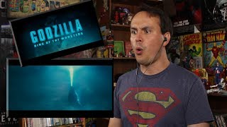 Godzilla: King of the Monsters - Official Trailer 1 REACTION