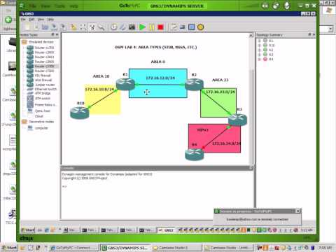 OSPF Lab 4 Area Types - Stub - NSSA - etc