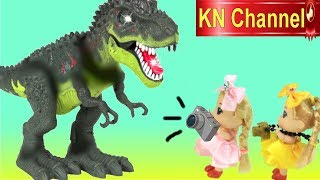 BÚP BÊ CHỤP HÌNH KHỦNG LONG TRONG CÔNG VIÊN KN Channel Dinosaur Park game