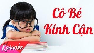 KARAOKE   Cô Bé Kính Cận - St. Trường Huy   Nhạc Trẻ Không Lời Hay Nhất 2018