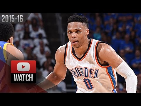 Russell Westbrook Full Game 3 Highlights vs Warriors 2016 WCF - 30 Pts, 12 Ast, BEASTbrook!