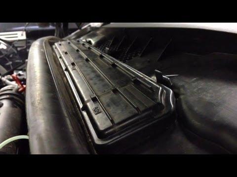 Pollenfilter im Auto wechseln / Pollen Filter Wechsel ...