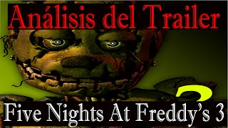 Análisis del Teaser Trailer: Five Nights at Freddy