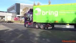 4K| Scania 143M 500 6x2 V8 Sound - Nitteberg 2
