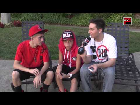 Madison And Mikey Of Iconic Boyz Fan Questions Part 1 - Burbank, Ca video