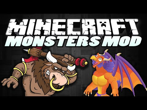 Minecraft Mods MYTHS AND MONSTERS MOD Minotaurs Devils More Minecraft Mod Showcase