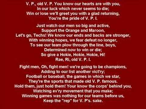 Virginia Tech Fight Song!!! Video