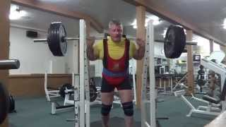 Equipped Squat 1 x 222 KG ( 490 LBS )