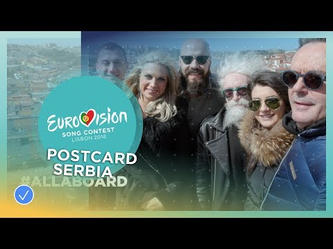 Postcard of Sanja Ilić & Balkanika from Serbia - Eurovision 2018