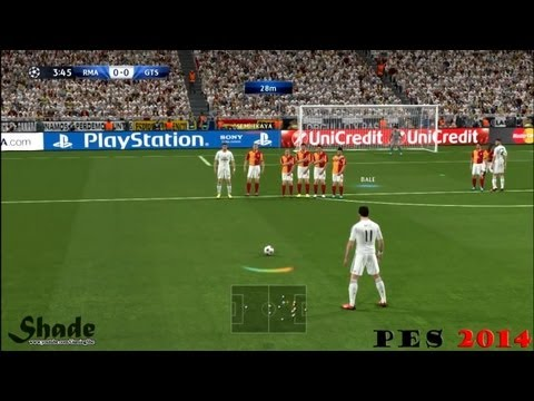 Free Kicks From PES 3 to 14