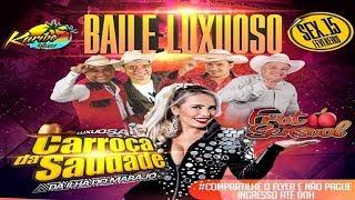 CD AO VIVO LUXUOSA CARROÇA DA SAUDADE E FRUTO SNSUAL NO KARIBE SHOW 15 02 2019 DJ TOM MAXIMO