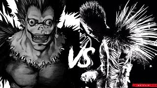 Death Note Light Meets Ryuk: Anime vs Movie