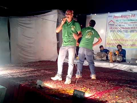 Girish bisht song performance on holi milan