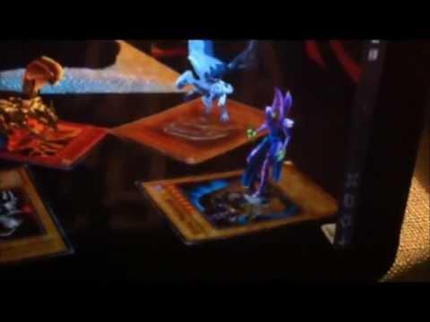 Androdisc. para proyectar hologramas de Yugioh!