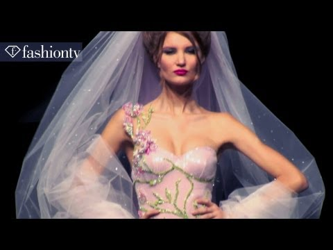 Bridal Couture at Hanna Touma Spring/Summer 2012 Show | Paris Couture Fashion Week | FashionTV