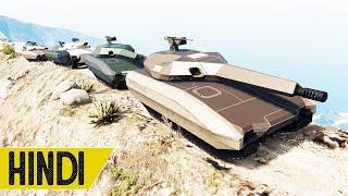 Can Khanjali Tank Claim Mount Chiliad??? | GTA 5 Online
