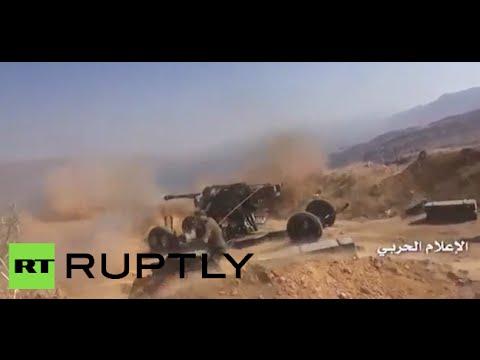 RAW: Syrian Army, Hezbollah bombard rebel-held city of Zabadani, Syria