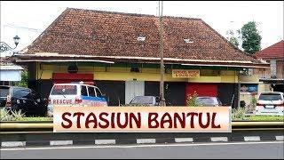 Stasiun Bantul || dipinggir jalan tapi banyak yang tidak tahu ||