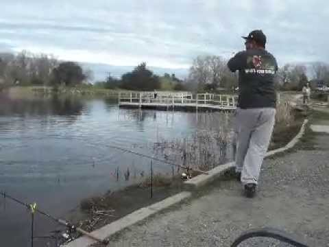 TROUT FISHING IN LAKE CAMANCHE