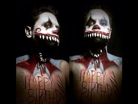 Happy Birthday Evil Clown
