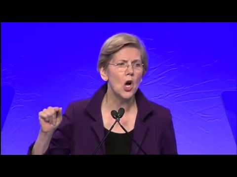 Elizabeth Warren Goes After Paul Ryan and Ted Cruz