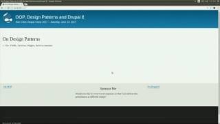 OOP, Design Patterns and Drupal 8