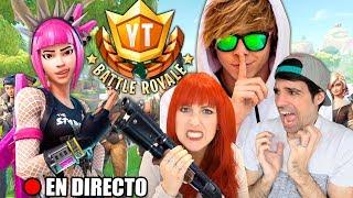 🔴 DIRECTO DEL TORNEO DE FORTNITE DEL RUBIUS! 100 YOUTUBERS A LO LOCO!! #YTBattleRoyale
