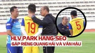 Trước chung kết King's Cup, Quang Hải, Văn Hậu được HLV Park Hang seo dặn dò kĩ lưỡng thế này