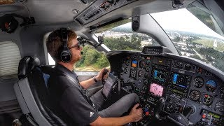 BACK TO WORK! Flying the TBM850