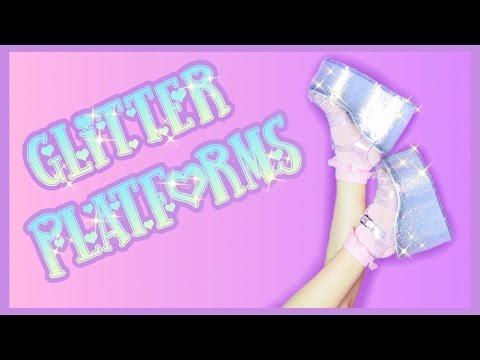 Glitter Platforms