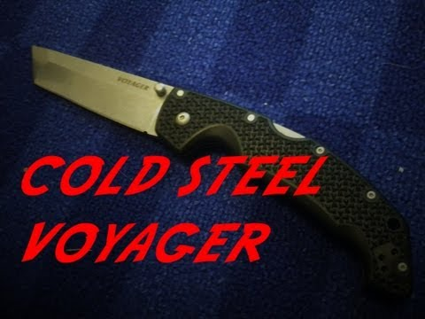 Pocket Knife Reveiw of the Cold Steel Voyager