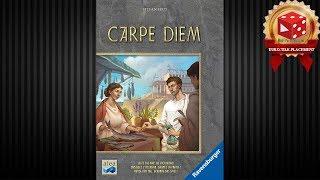 Carpe Diem (Stefan Feld, Alea 2018) Überblick und Rezension - Brettspiel im Test deutsch