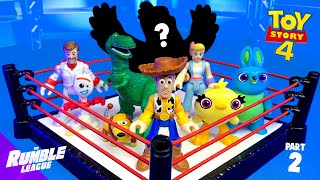Toy Story 4 Movie MYSTERY Shake Rumble Part 2 // RUMBLE LEAGUE