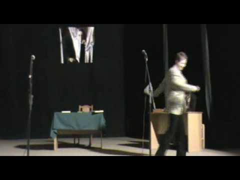 спектакль Юбилей, часть 1, театр-студия Живое слово