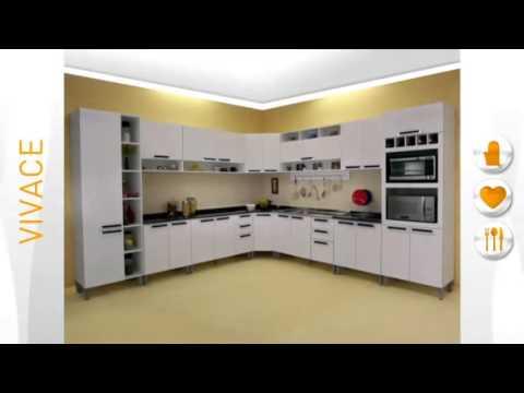 Armario de cozinha itatiaia madeira