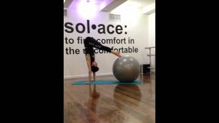 Plank to Pike with Stability/Yoga Ball, into Side Planks on Floor