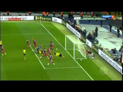 Hummels's Disallowed Goal   Borussia Dortmund vs Bayern Munich DFB Pokal 2014
