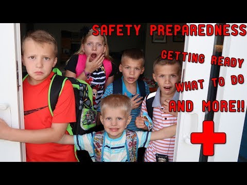 Preparing for an Emergency || Mommy Monday