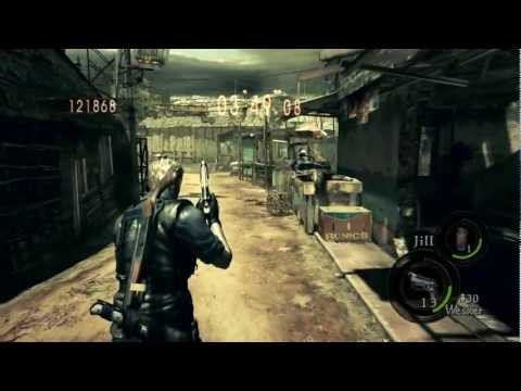 Resident evil 5 - Coop 4 players Mercenarios