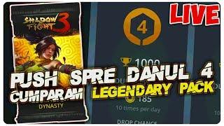 Cumparam Legendary Pack + Push Spre danul 4  | Shadow Fight 3 [LIVE#39]